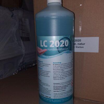 LC2020 Händedesinfektion
