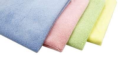 Microfasertuch Basic versch. Farben